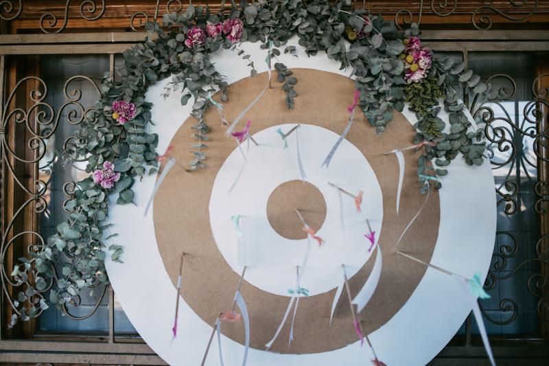 Decoración floral para boda
