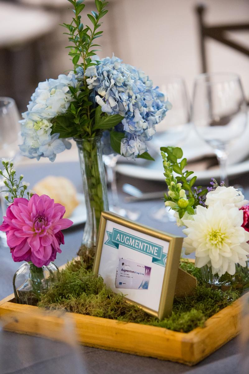 Decoración floral para una ceremonia civil