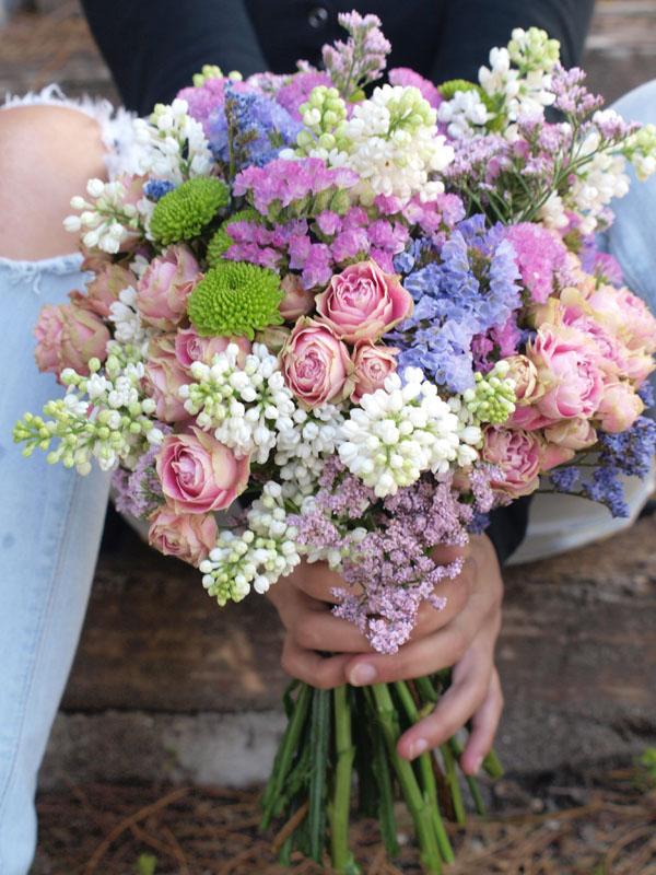 ramo de novia silvestre archivos flores en el columpio