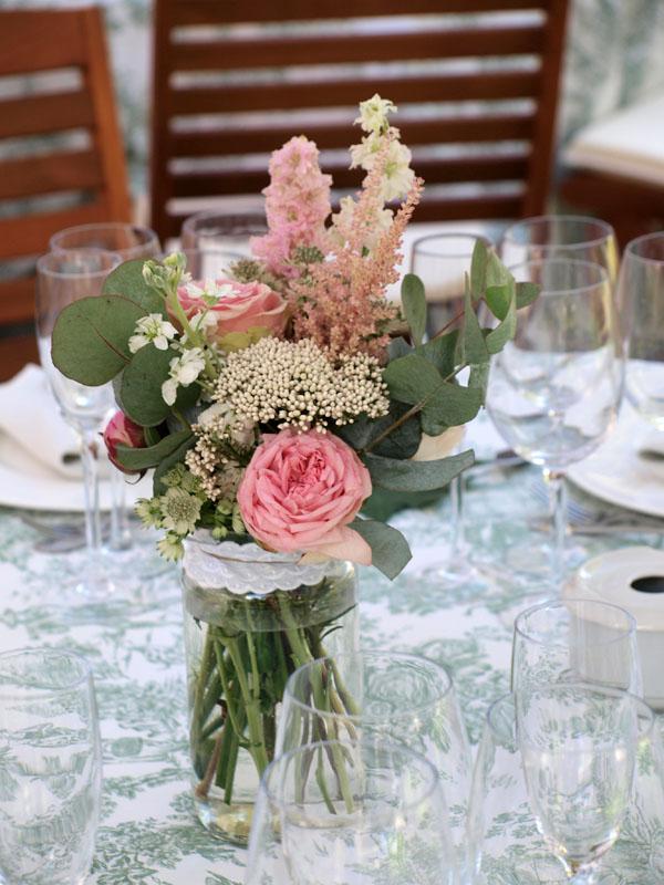 Centros de mesa archivos flores en el columpio for Mesas vintage