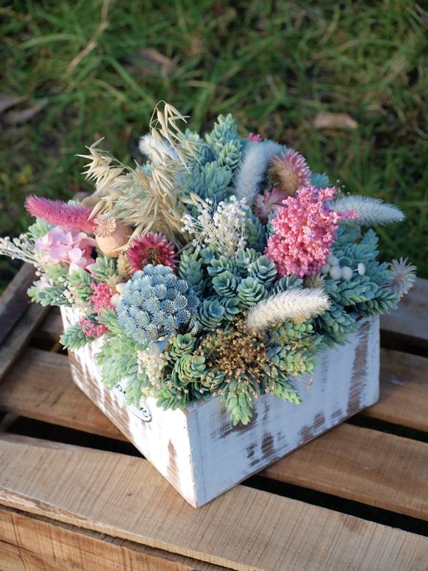 Centro de flores secas - Arreglos florales con flores secas ...