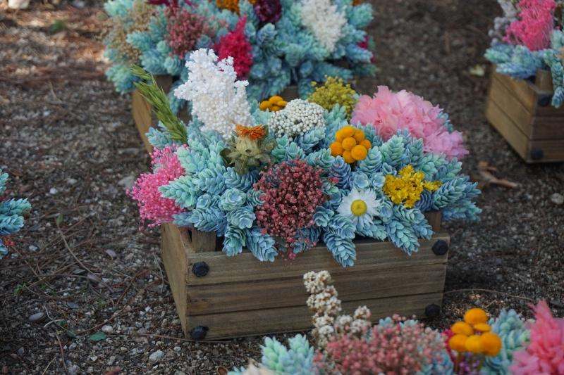 Centros de flores secas y preservadas archivos flores en for Centros de mesa artificiales