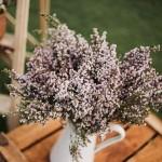 Detalle de decoración floral