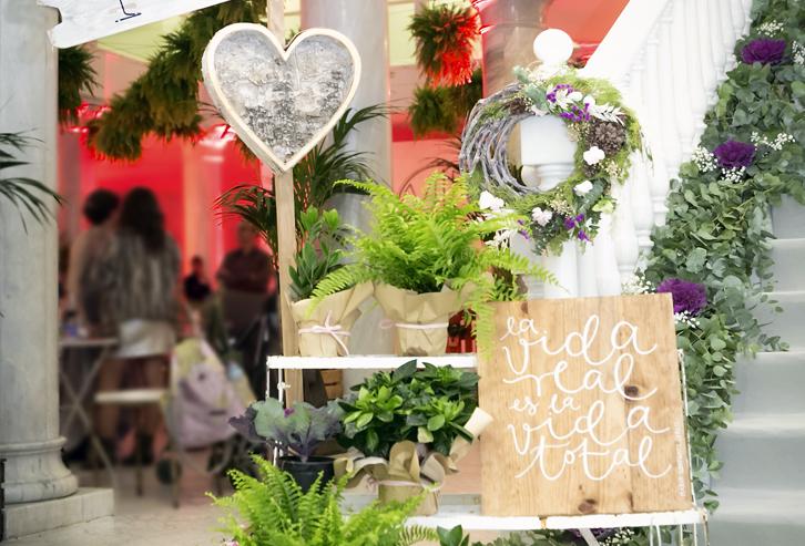 Decoraci n floral de bodas en madrid flores en el columpio - Decoracion en espana ...