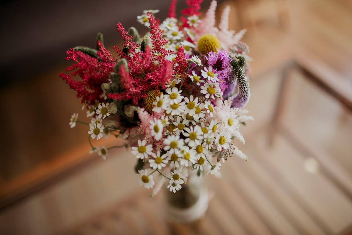 Ramo De Novia De Flores Naturales Sencillo Y Silvestre Flores En  ~ Ramos De Novia Flores Preservadas