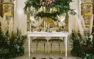 Decoración floral Love and Winter