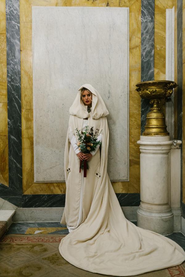 Ramo de novia de invierno