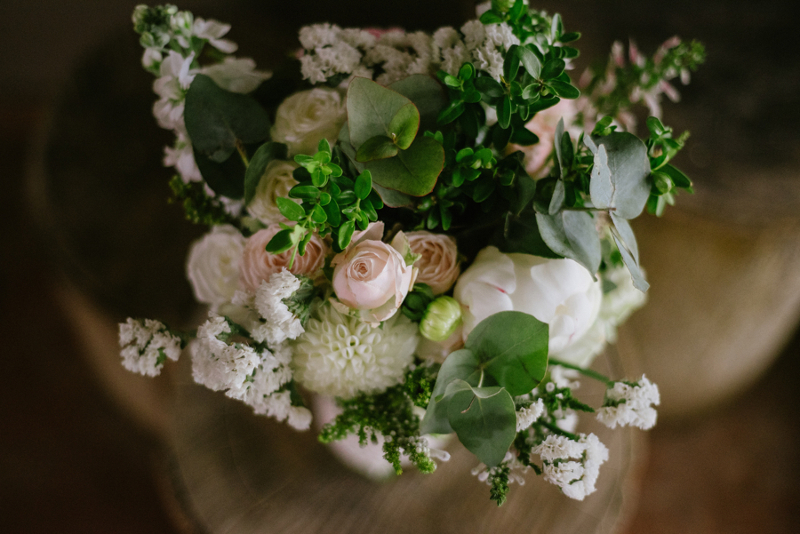 Ramo de flores preservadas o naturales