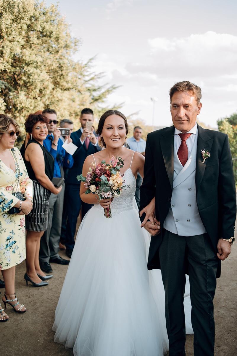 Ramo de novia preservado novia agosto