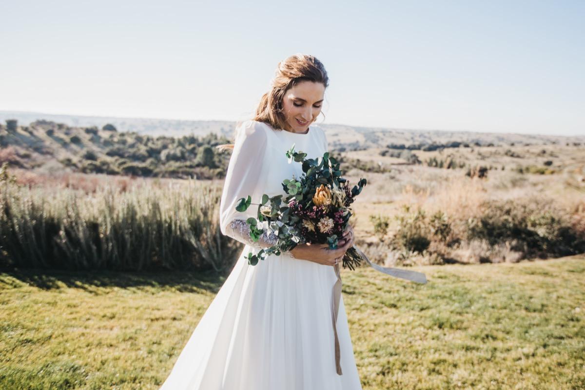 ramo de novia para miss cavallier