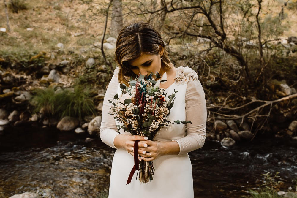 La novia del ramo silvestre