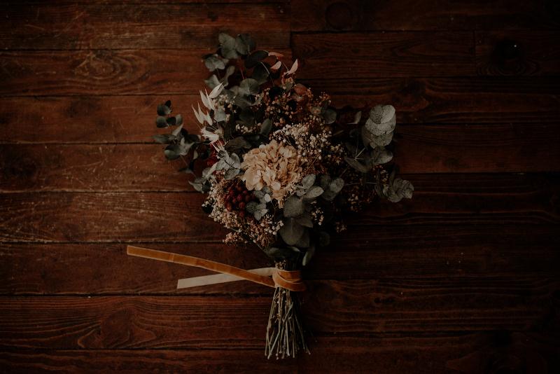 Un ramo otoñal y romantico 5
