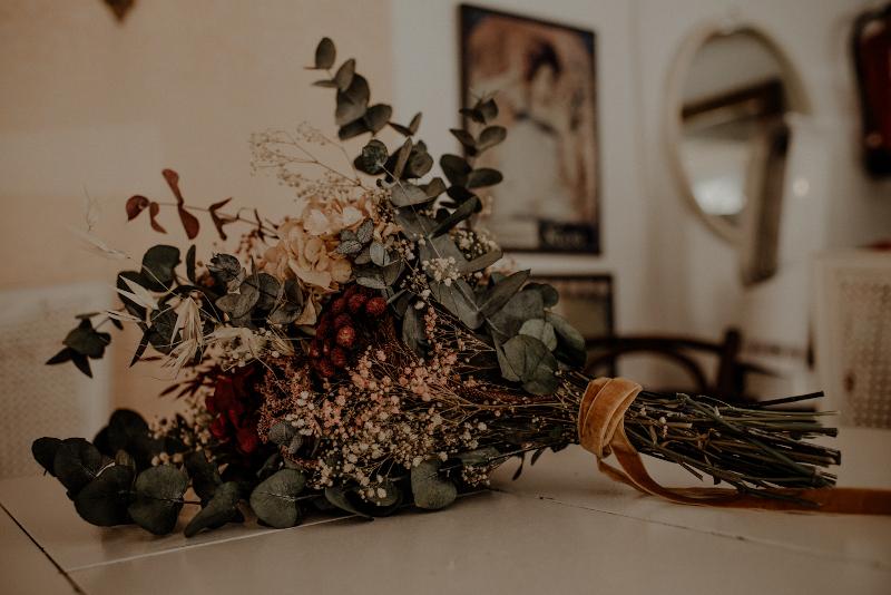 Un ramo otoñal y romantico 6
