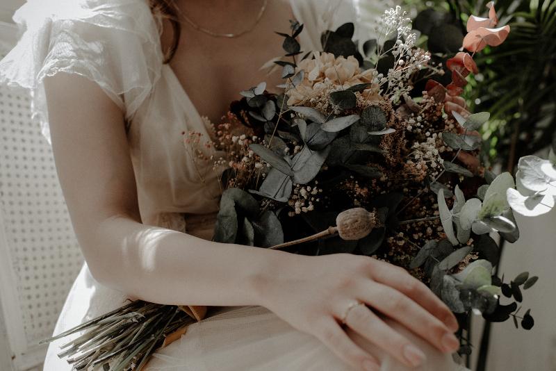 Un ramo otoñal y romantico 7