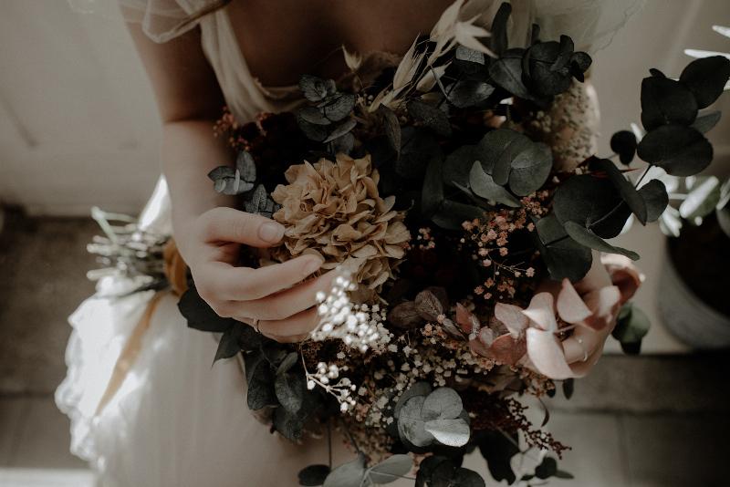 Un ramo otoñal y romantico 8