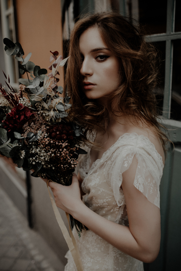 Un ramo otoñal y romantico 9