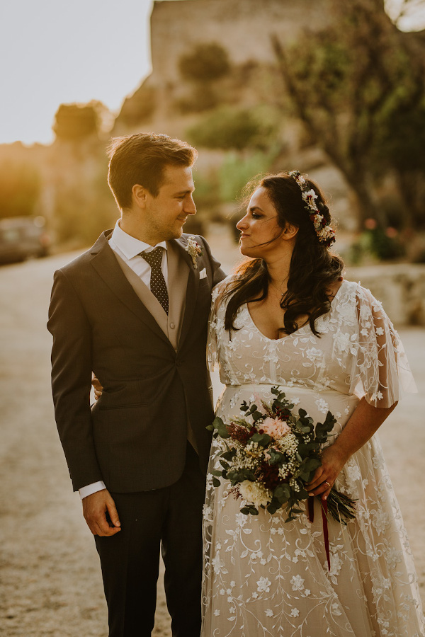 Una boda rustic chic 11