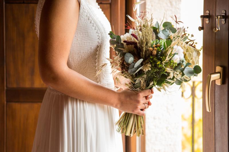 La boda intima y natural de Ainhoa 1