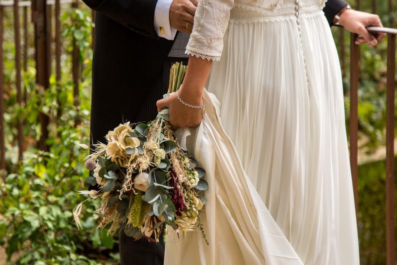 La boda intima y natural de Ainhoa 11