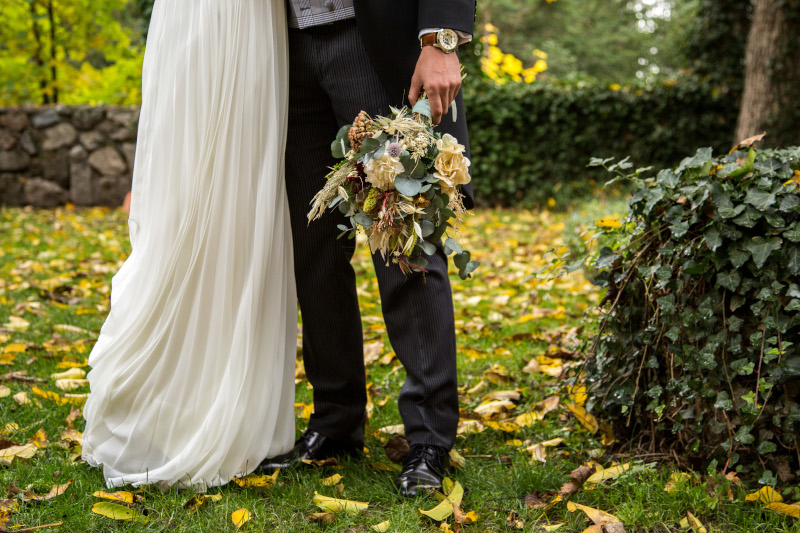 La boda intima y natural de Ainhoa 12