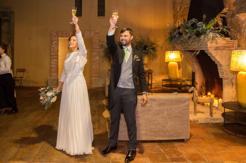 La boda intima y natural de Ainhoa 13