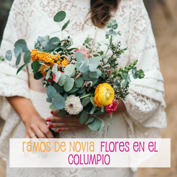 Ramos de Novias - Flores en el Columpio