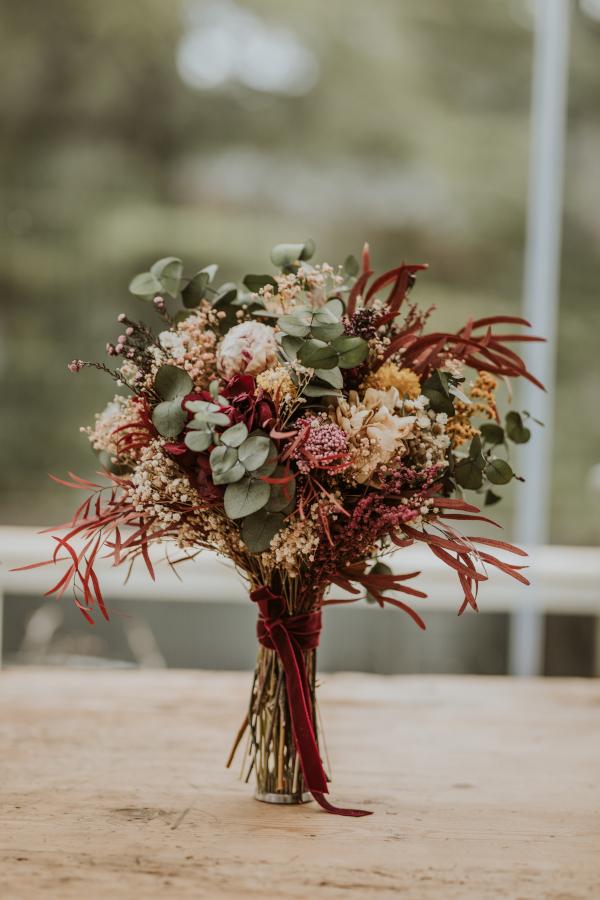 Ocho modelos de ramos de flores preservadas 3