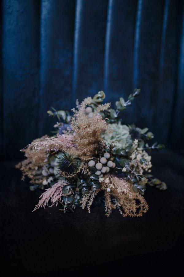 Un ramo invernal y romántico 4