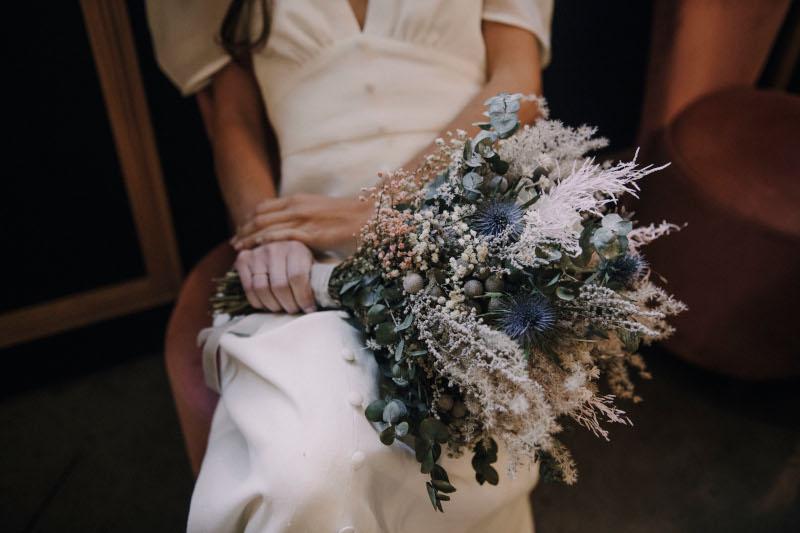 Un ramo invernal y romántico 5