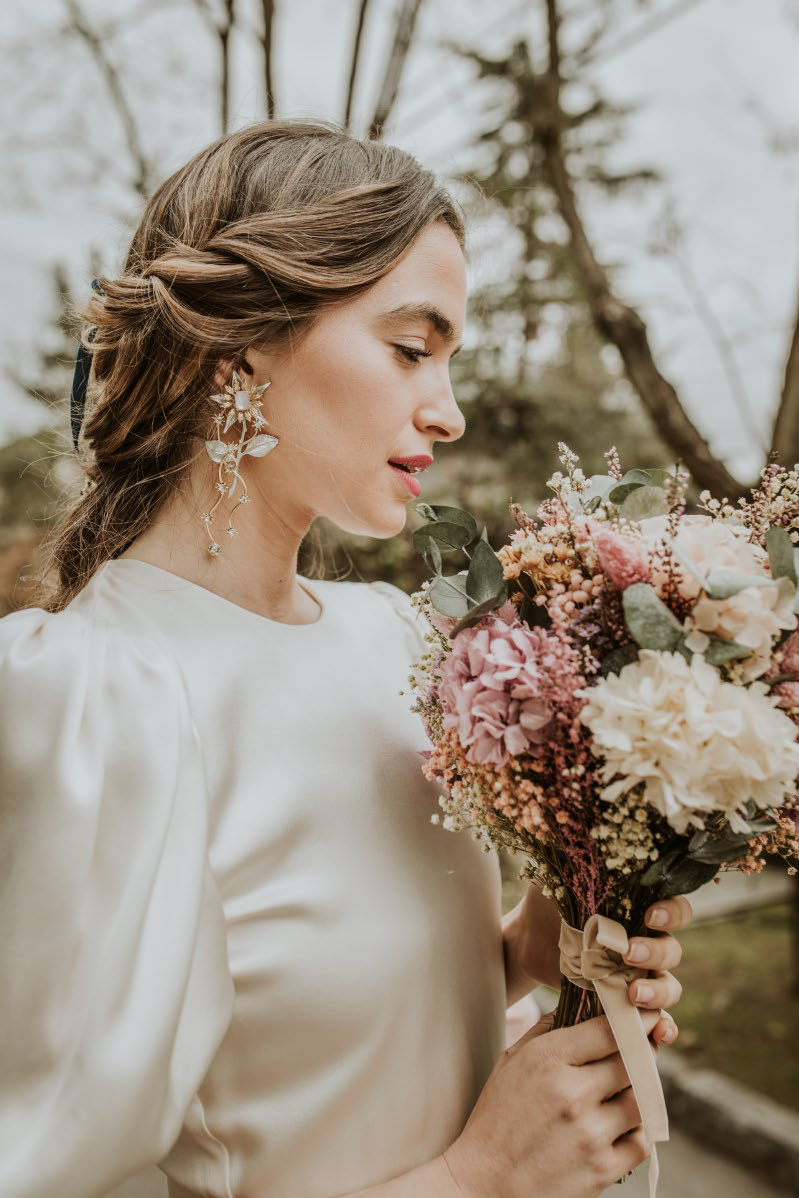 Bouquet ramo preservado de novia