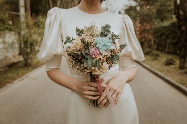 flores preservadas para novias