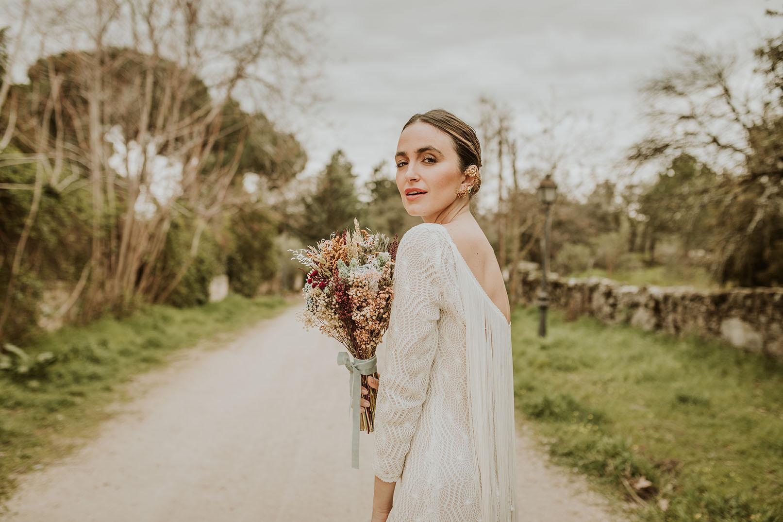 Ramo silvestre preservado para novias