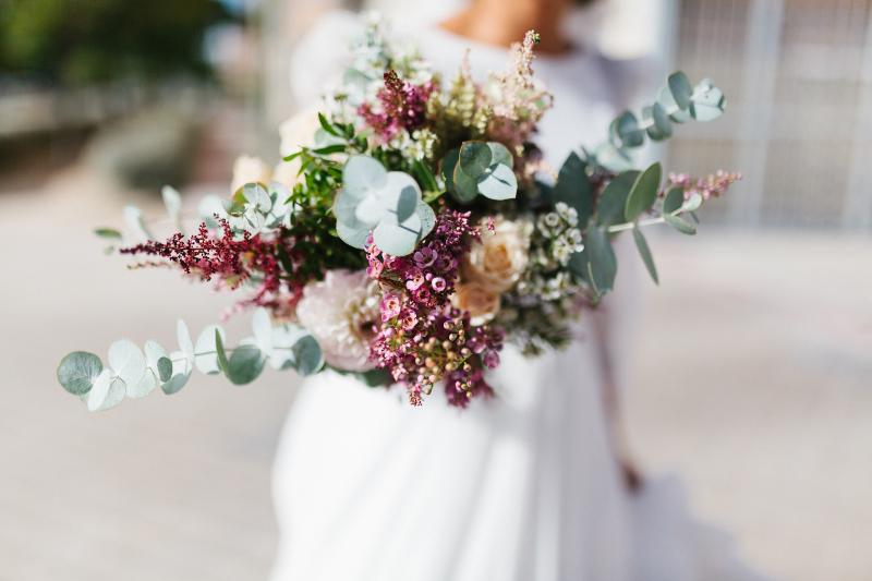Ramos de novia con flores naturales