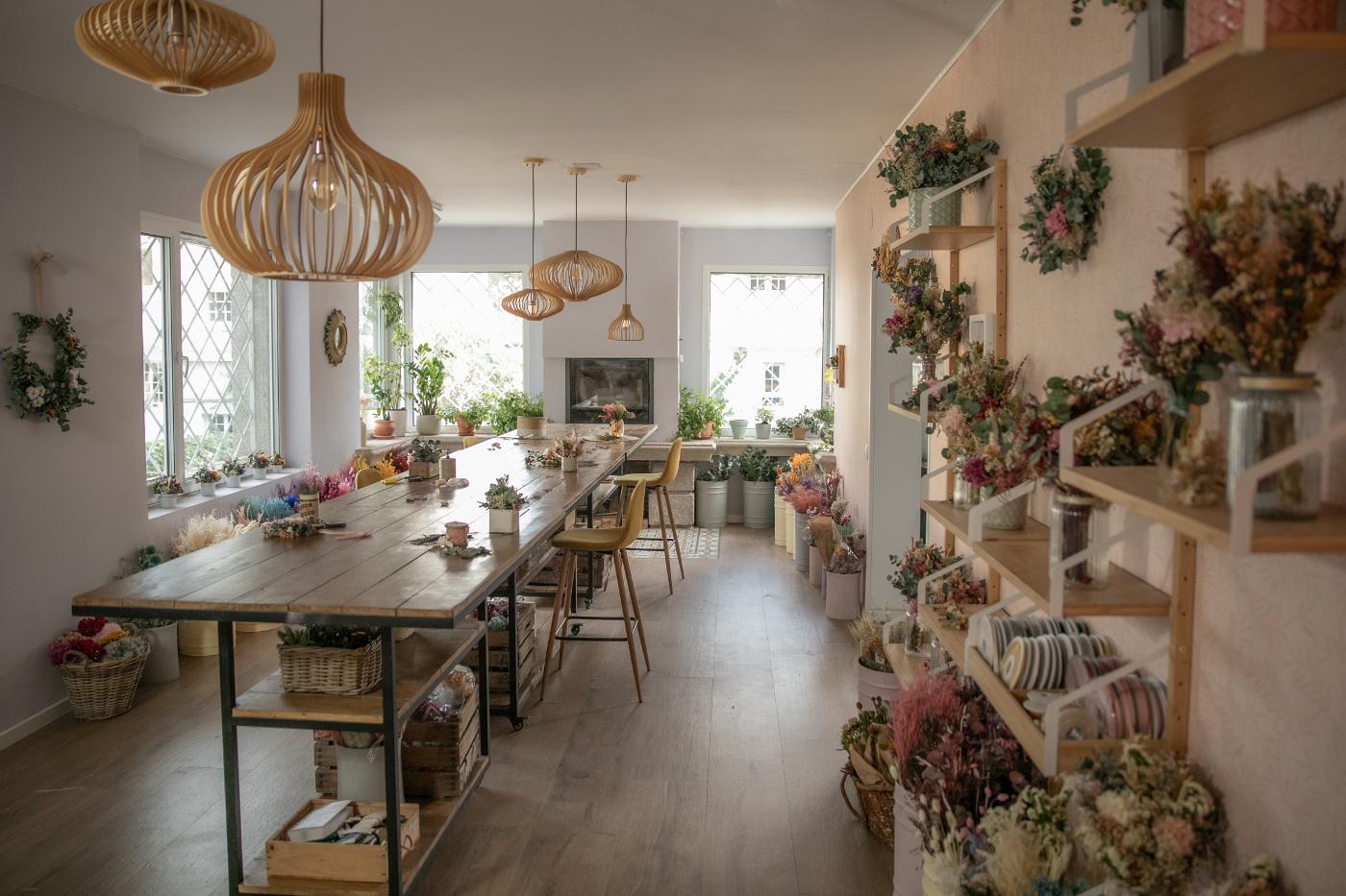 El taller de Flores en el Columpio