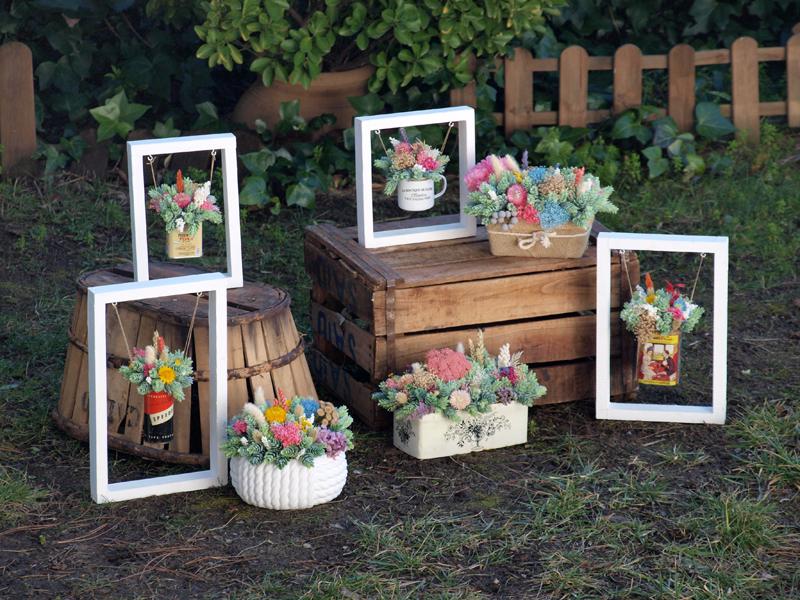 centros de flores para la tienda on line