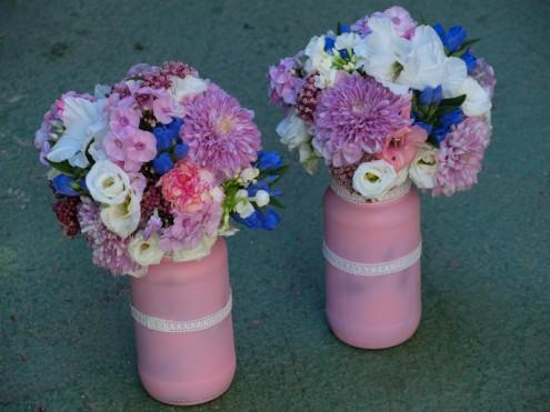 Flores para las abuelas