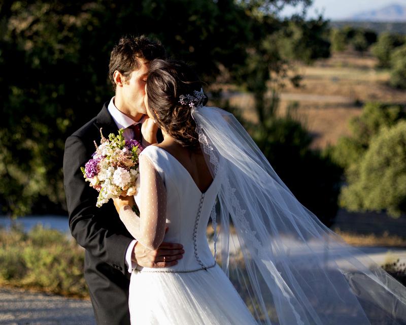 Bouquet romántico de tonos suaves