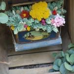 Columpio de flores