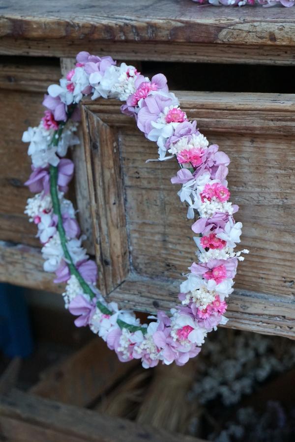 Coronas de flores para comuniones flores en el columpio - Coronas de flore ...